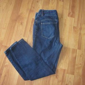 Boston proper dark wash skinny jeans
